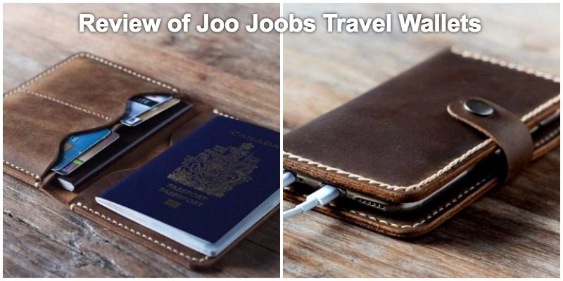 Review of Travel Accessories - Joo Joobs Travel Wallets