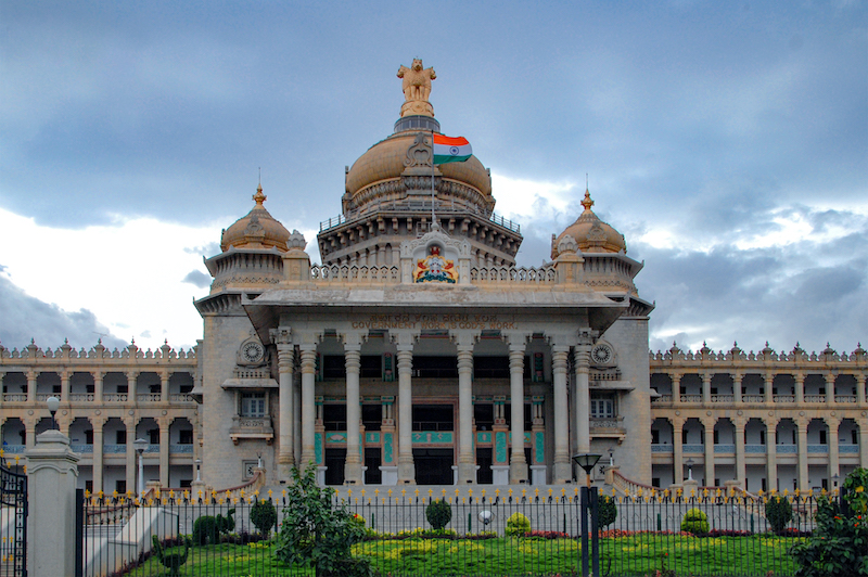 15 Interesting Facts About Vidhan Soudha, Bengaluru, India